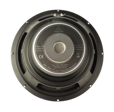 """Behringer X77-00000-56145 12"""" 800W Woofer for EUROLIVE B112MP3 X77-00000-56145"""