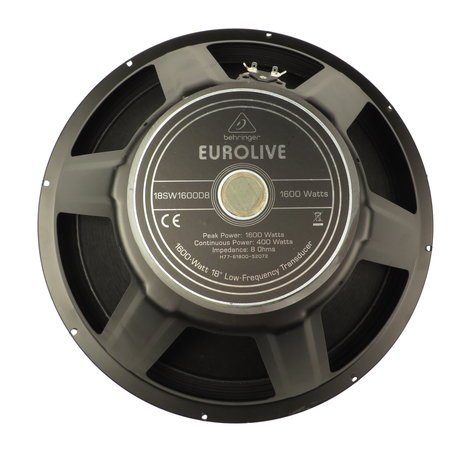 Behringer X77-61800-52072 Woofer for Eurolive B1800X, VP1800S, and B1800X Pro X77-61800-52072