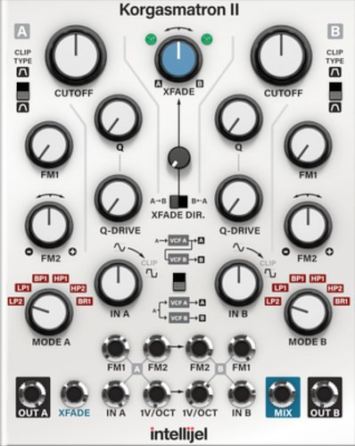 Softube Intellijel Korgasmastron II Add-On for Modular Virtual Synth System INTELLIJEL-KORG-II