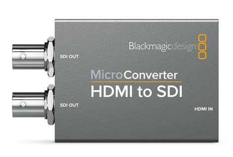 Blackmagic Design CONVCMIC/HS Micro Converter HDMI to SDI (No Power Supply) CONVCMIC/HS