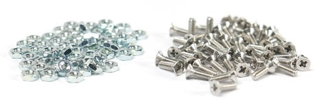 Elite Core CSP-50  Pack 50 screws & nuts for D-Series Connectors  CSP-50