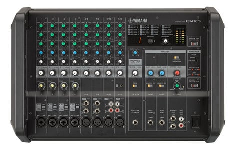 Yamaha EMX5 Powered Mixer And Amplifier EMX5