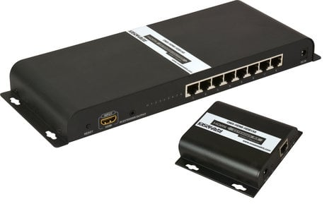 OCEAN MATRIX OMX-HDMI-HDB1X8 1x8 HDMI HDbitT Distribution Amplifier OMX-HDMI-HDB1X8