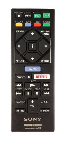 Sony 149295421 Remote for BDP-S6500 149295421