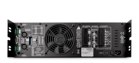 QSC ISA800TI 450W @ 8 Ohms Power Amplifier (with Ioslated 25, 70, 100 Volt Outputs) ISA800TI