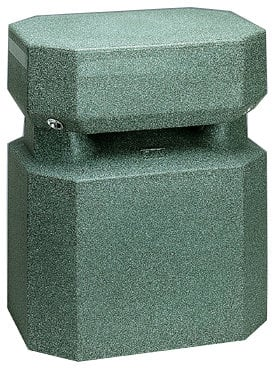 OWI Incorporated LGS400 [RESTOCK ITEM] Octagon Landscape Garden Speaker, 100 Watts LGS400-RST-01