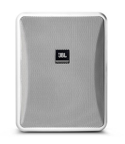 JBL CONTROL-25-1L Compact Indoor/Outdoor, Background/Foreground  Low impedance Speaker, White, Sold In Pairs CONTROL-25-1L-WHT