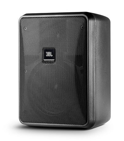 JBL CONTROL-25-1L Compact Indoor/Outdoor, Background/Foreground, Low impedance Speaker, Black, Sold In Pairs CONTROL-25-1L-BLK