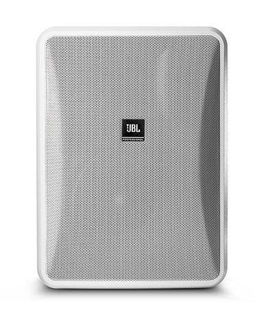 JBL CONTROL-28-1L High Output Indoor/Outdoor, Background/Foreground Low Impedance Speaker, White, Sold In Pairs CONTROL-28-1L-WHT