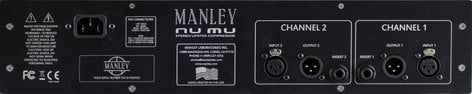 Manley Laboratories Limiter/Compressor NU-MU With Stereo Optical, Tube, Hybrid NU-MU