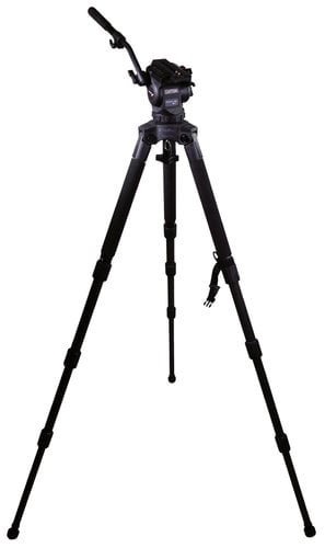Cartoni KF08-3CS FOCUS 8 Head with Long Style Sliding Plate, Stabilo Tripod, Pan Bar, and Soft Case KF08-3CS