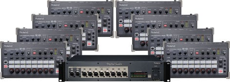Roland M48-P8 Package, Personal Mixing for Eight (Add-on) M48-P8