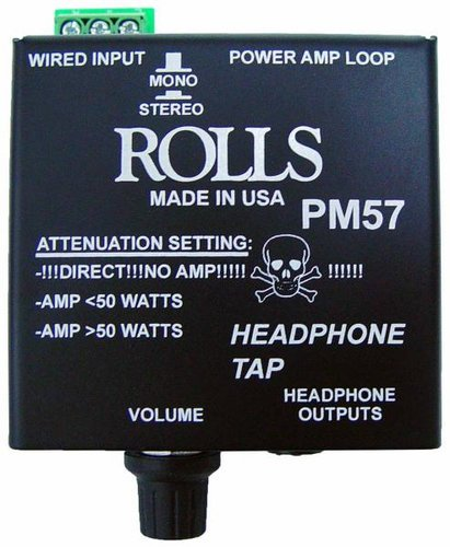 Rolls PM57  Headphone Tap With Attenuation Switch PM57