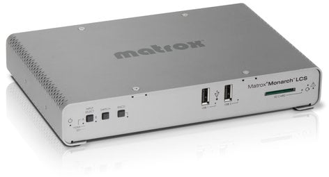 Matrox Monarch LCS Lecture Capture System, H.264 Encoder with Streaming MONARCH-LCS
