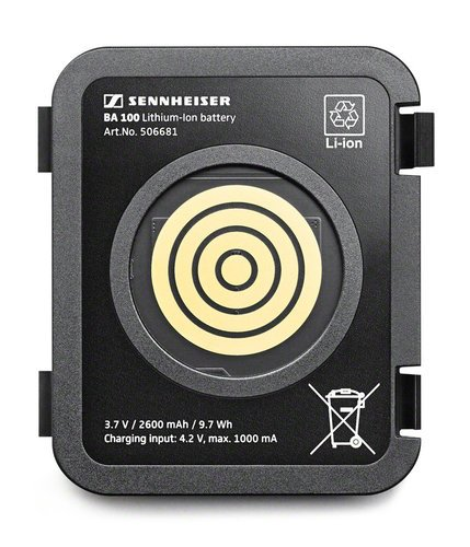 Sennheiser BA 100 Battery for TC-W sattelite  BA-100-SENNHEISER