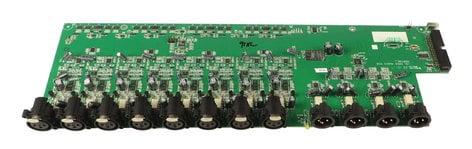 Allen & Heath 004-400X  Audio PCB for AR2412 004-400X
