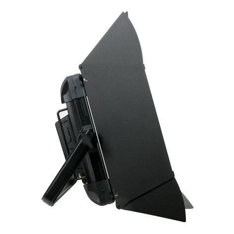 Elation Pro Lighting TVL-PANEL-DW 100W Dynamic White Softlight, 3K-6K with Barndoors TVL-PANEL-DW
