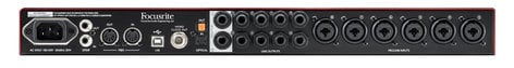 Focusrite Scarlett 18i20 (2nd Gen) 18x20 USB 2.0 Audio Interface SCARLETT-18I20-V2