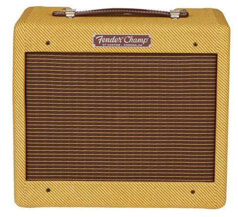 Fender CUSTOM-57-CHAMP '57 Custom Champ 5W Tube Guitar Combo Amp, 120V CUSTOM-57-CHAMP