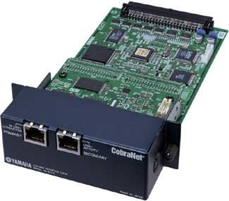 Yamaha MY16-CII 16 Channel CobraNet™ network I/O card MY16-CII