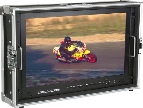 Delvcam DELV-4KSDI24  4K UHD HDMI Multi-Format Quad, LED Broadcast Monitor DELV-4KSDI24