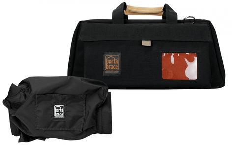 Porta-Brace CS-DV3RQS-M2  Camera Case with Slick Mini Rain Cover CS-DV3RQS-M2