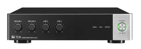 TOA A-5006 4 in Mixer/Amp, Network DSP, 60W @ 70V A5006