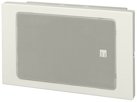 TOA BS-680U Metal Box Wall Mount Paging Speaker, White BS680U