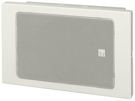 TOA BS-680U [RESTOCK ITEM] Metal Box Wall Mount Paging Speaker, White BS680U-RST-01