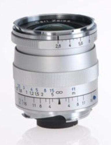 Zeiss 1365-650  Silver Biogon T* 2.8/21 ZM Lens 1365-650