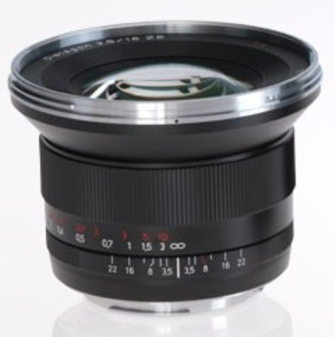 Zeiss 1762-827  Distagon T* 3.5/18 ZE Lens 1762-827