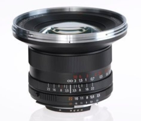 Zeiss 1767-822 Distagon T* 3.5/18 ZF.2 Lens 1767-822