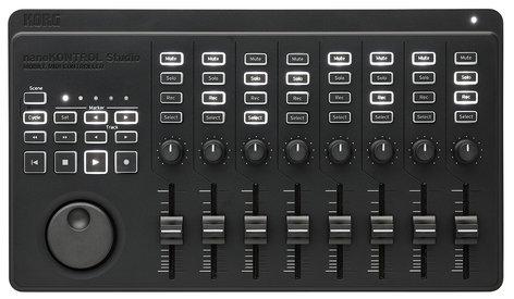 Korg NANOKONTROL-STUDIO  8-Fader DAW Controller with USB and Bluetooth  NANOKONTROL-STUDIO