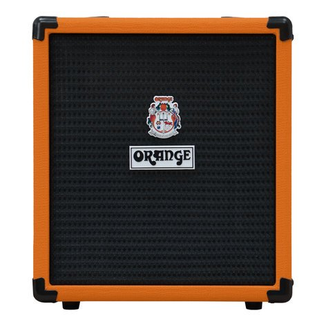 Orange Amplification Crush Bass 25 Bass Amp, 25W CRUSH-BASS-25