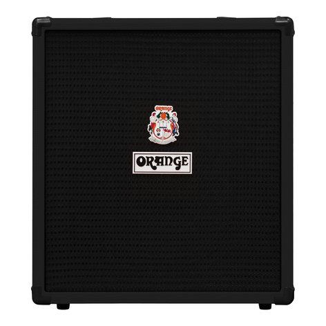 Orange Amplification Crush Bass 50 Bass Amp, 50W CRUSH-BASS-50