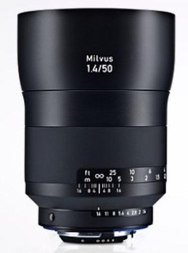 Zeiss 2096-556  Milvus 1.4/50 ZF.2 Lens 2096-556