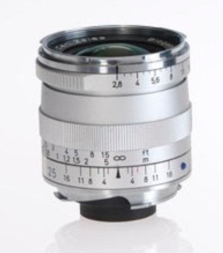 Zeiss 1365-652  Silver Biogon T* 2.8/25 ZM Lens 1365-652