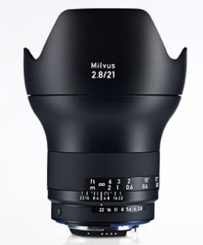 Zeiss 2096-548  Milvus 2.8/21 ZF.2 Lens 2096-548