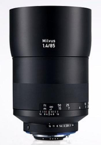 Zeiss 2096-560  Milvus 1.4/85 ZF.2 Lens 2096-560