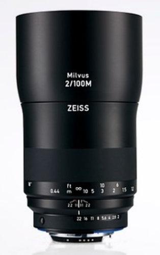 Zeiss 2096-562  Milvus 2/100M ZF.2 Lens 2096-562