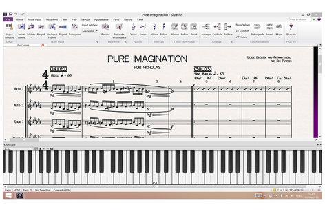 Avid Sibelius 8 Upgrade [EDUCATIONAL PRICING] Music Notation Software Upgrade from Sibelius 1 - 7.5 for Students and Teachers SIBELIUS-8-UPG-EDU