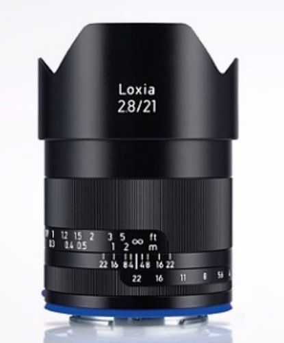 Zeiss 2131-999  Loxia 2.8/21 Lens 2131-999