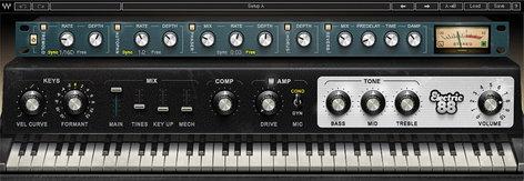 Waves Electric 88 Piano [DOWNLOAD] Electric Piano Software Plugin EL88PIAN