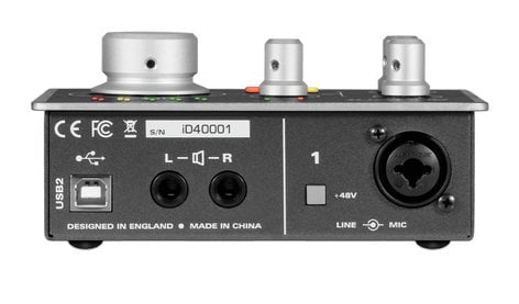 Audient ID4  1-Channel USB2 Audio Interface and Monitoring System ID4