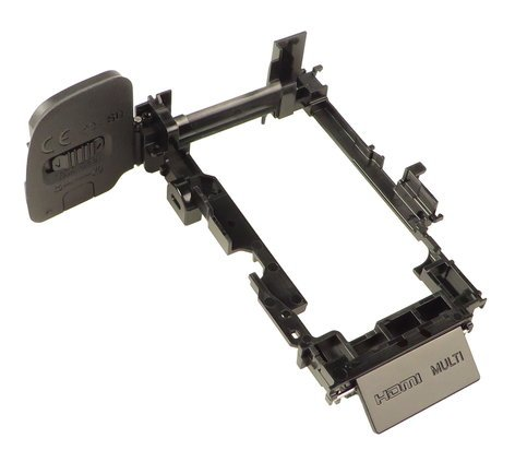 Sony X25891811  Black Base Assembly with Back Door for Alpha A6000 X25891811