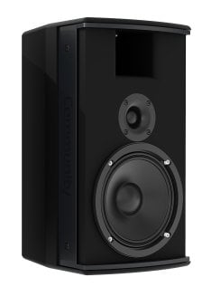 Community IC6-1062/00 6.5-Inch Two-Way, 100 x 100 Installation Loudspeaker, For Indoor Use, Black IC6-1062/00B