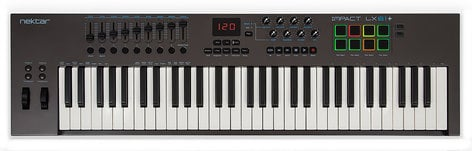 Nektar Impact LX61+ 61-Key USB MIDI Controller IMPACT-LX61+