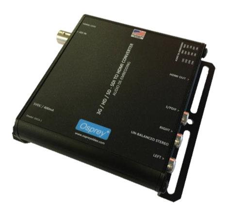 Osprey Video 97-21211  3G SDI to HDMI Converter with Audio De-Embedding  97-21211