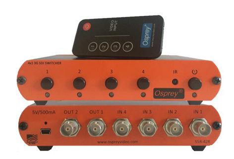 Osprey Video 97-30001  4x1 3G SDI / DVB-ASI Switcher  97-30001