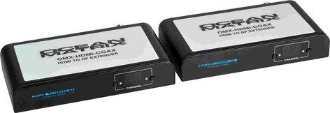 OCEAN MATRIX OMX-HDMI-COAX  HDMI to HD Over Existing Coax Extender Pair Converter OMX-HDMI-COAX